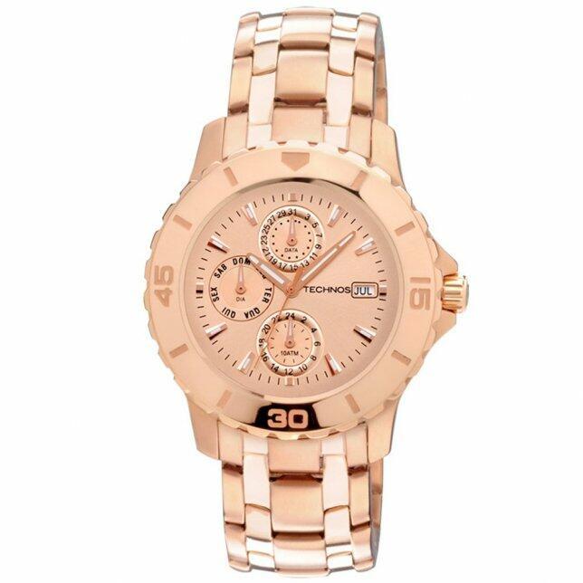 69a21bd4f774d Relógio Technos Elegance Dress 6P89HV 4T - Compre agora na Gravina