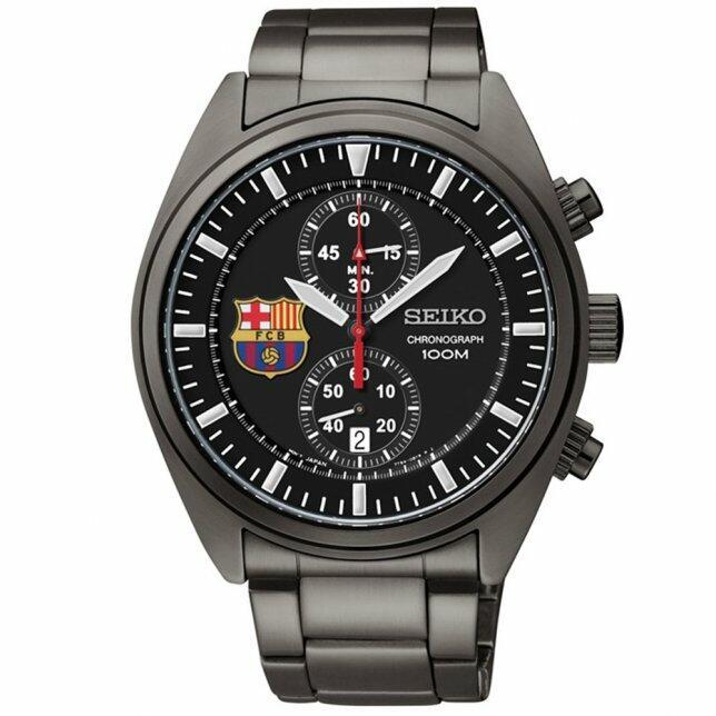 eada809d7ce Relógio Seiko Cronograph Barcelona 7T94AO 0 Original com o Melhor ...